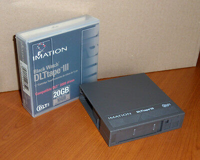 IMATION DLT TAPE III - 10/20Go GB support de stockage