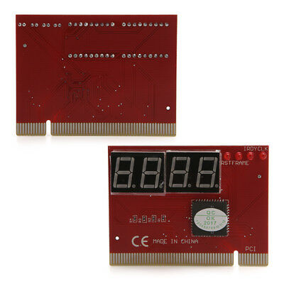 PC 4 Digit Diagnostic Analyzer Card Motherboard Tester High Quality