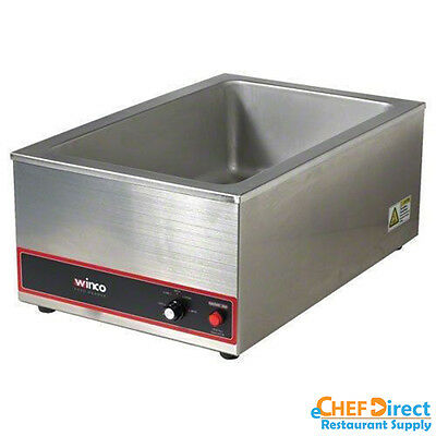 New 1200W Commercial Stainless Steel Electric Countertop Food Warmer FW-S500