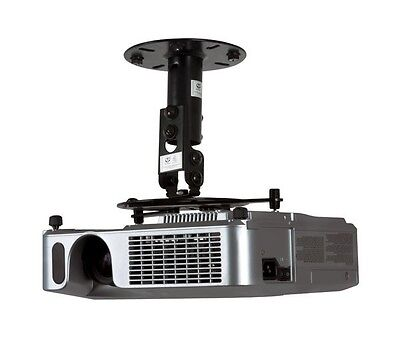 Professional Multimedia Home Cinema Projector Ceiling Mount Bracket 190mm Drop