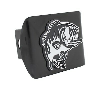 Bass Emblem Hitch Receiver Cover - Metal!