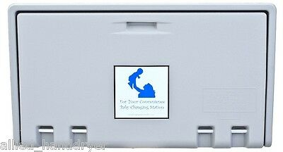Allied Hand Dryer (Private Label) Baby Changing Station GRAY Horiz AHD100-01