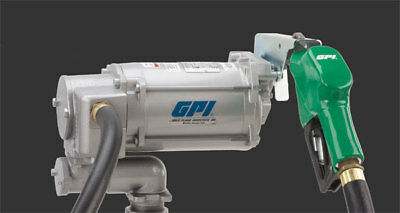 GPI M-3130-2   115 Volt Fuel Transfer Pump Automatic Nozzle 133220-2