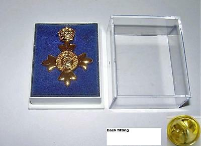 OBE  LAPEL PIN- Order of  British Empire - Brand New and Boxed, ready to send