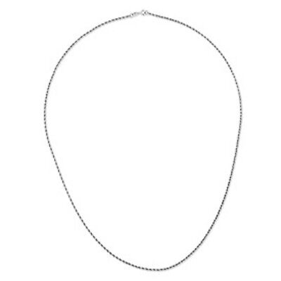 """14KT White Gold Rope Chain Necklace 20"""" NEW........... Men's or Women's"""