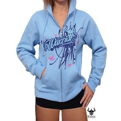Warrior Wear Girls Fairytale Blue Hoody - Mma Ufc