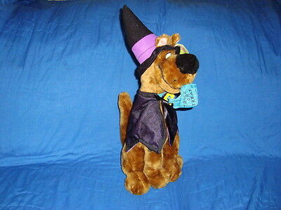 """Scooby-Doo as Witch Halloween 15"""" 1998 ACE Plush"""