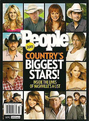 People 2011 COUNTRY'S BIGGEST STARS! Keith Urban Tim McGraw Toby Keith Vince Gil