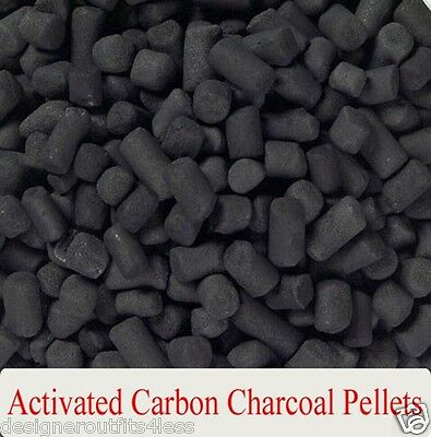 Activated Carbon Charcoal Pellets Purified Water Filter Refill Pure Shower Head