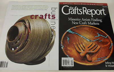 Lot 2 Magazine Back Issues Crafts Business 2006 The Craft Report 2003