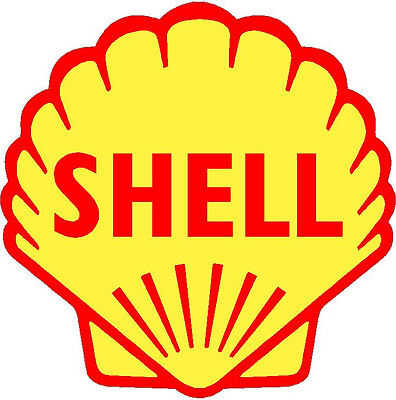 Shell  Vinyl Sticker (A094) 12 Inch