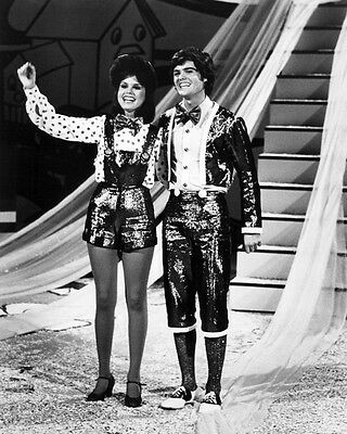 Donny Osmond, Marie Osmond Donny And Marie 8X10 Photo Tv Show
