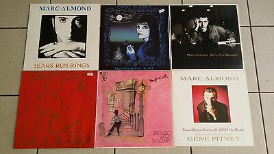 MARC ALMOND / SOFT CELL . 6 x MAXI 1982 bis 1989 : Melancholy Rose,say hello ...