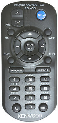 Kenwood Kdc-X595 Kdcx595 Genuine Rc-405 Remote *pay Today Ships Today*