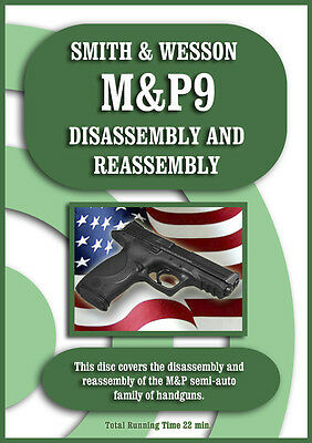 Smith Wesson M&P Pistols Disassembly Assembly On-Target DVD 9 40 45  ALL MODELS