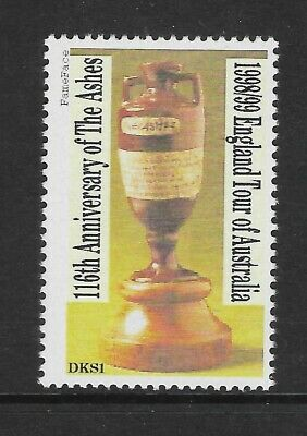 Cricket Ashes Tour 1998/9 Cinderella Stamp Mnh
