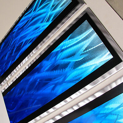 Modern Abstract Metal Wall Art Painting Sculpture Home Decor 3D Panels