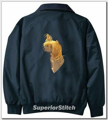 CHINESE CRESTED Challenger jacket ANY COLOR B