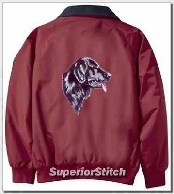 FLAT COATED RETRIEVER Challenger jacket ANY COLOR B