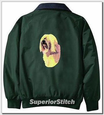 HAVANESE embroidered Challenger jacket ANY COLOR B