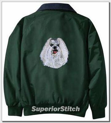 MALTESE embroidered Challenger jacket ANY COLOR B