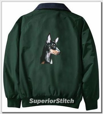 MANCHESTER TERRIER Challenger jacket ANY COLOR B