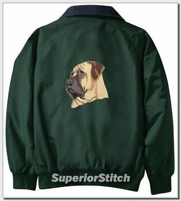 MASTIFF embroidered Challenger jacket ANY COLOR B