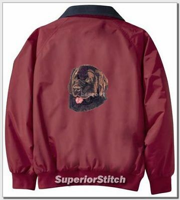 NEWFOUNDLAND embroidered Challenger jacket ANY COLOR B