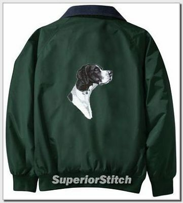 POINTER embroidered Challenger jacket ANY COLOR B