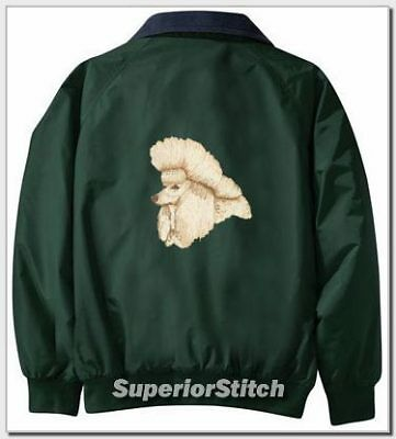 POODLE embroidered Challenger jacket ANY COLOR B