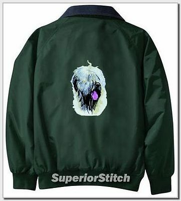 SOFT CHATED WHEATEN TERRIER Challngr jacket ANY COLOR B