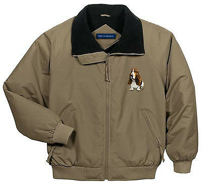 BASSET HOUND embroidered Challenger jacket ANY COLOR