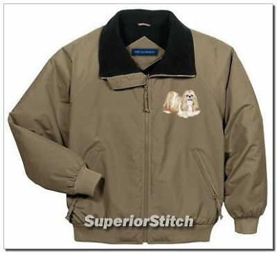 SHIH TZU embroidered challenger jacket ANY COLOR