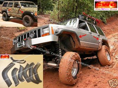 Jeep Cherokee Xj Fender Flares - Wheel Arch Extensions  !!! New !!! New !!!