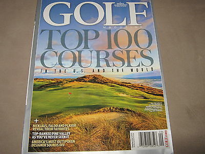 GOLF Magazine TOP 100 COURSES in the U.S. and WORLD Tips Lessons Ian Poulter NEW