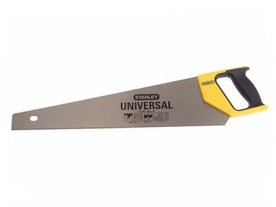 "Stanley 5-20-088 Heavy Duty Handsaw 22"" 550mm 8TPI General Purpose 1-20-088"