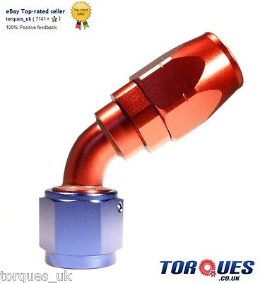 AN -10 (AN10 AN 10) 60 DEGREE Swivel Seal Hose Fitting