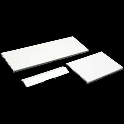 3 White Replacement Door Slot Cover Lid  Part for Nintendo Wii Console System