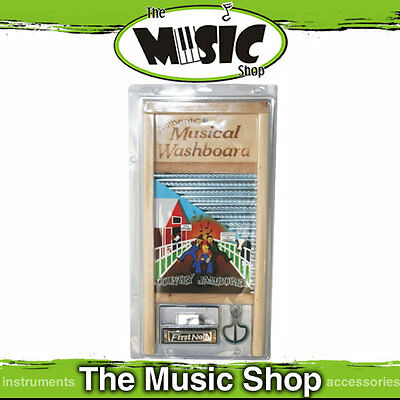 New Jamboree Kit - Includes Musical Washboard, Thimbles, Jaw Harp, C Harmonica