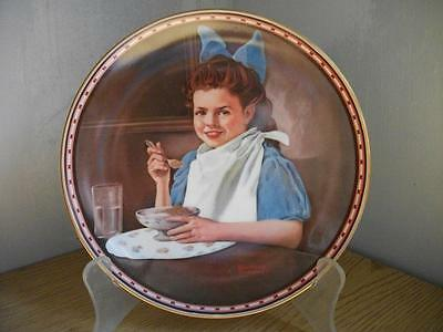 Good Intentions, Rockwell collector plate