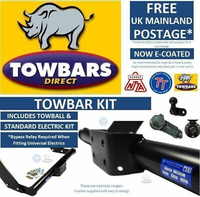 Flange Towbar For Iveco Daily Van, Chassis Cab & Combi MPV 1999 to 2014