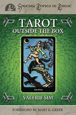 Tarot Outside the Box by Valerie Sim (English) Paperback Book Free Shipping!