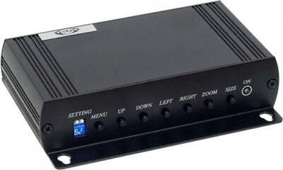 VGA to BNC Composite Video converter for DVR Surveillance System, Dual Output