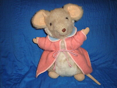 Exclusive Harrods Merrythought Mouse Pajama Bag 13""