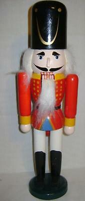 """Really Cool Wood Nutcracker 15"""" Tall W/ Black Hat And Boots In Original Box"""