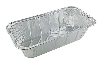 Handi-Foil Third 1/3 Size Deep Disposable Steam Table Aluminum Pan Tray 50 Pack