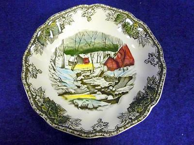 """JOHNSON BROTHERS FRIENDLY VILLAGE SAUCERS 5 1/2"""""""