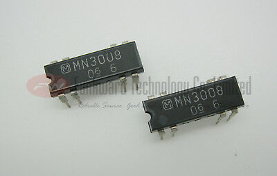 Panasonic MN3008 Low Noise BBD DELAY IC x 1pc