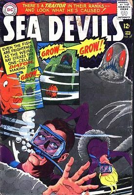 "SEA DEVILS #27 Very Good ""A Traitor in their Ranks!"" Silver Age DC Comics 1966"