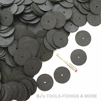 100 Resin Cutting Disc Kit Rotary Hobby Tool & Dremel Accessories Craft, Hobby